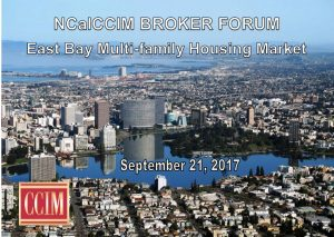 NCalCCIM Broker Forum - East Bay Multi-family Housing Market @ Cathedral Event Center | Oakland | California | United States