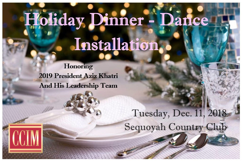 Holiday Dinner, Dance, Installation @ Sequoyah Country Club | Oakland | California | United States