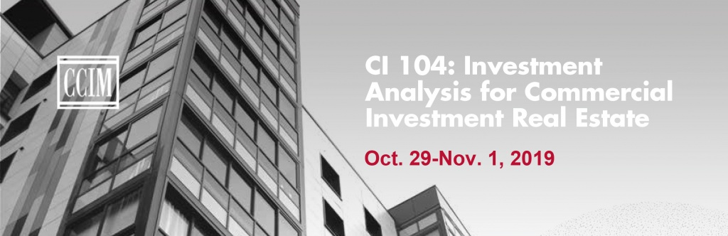 CI 104 Investment Analysis Comes to San Francisco @ Conference Center