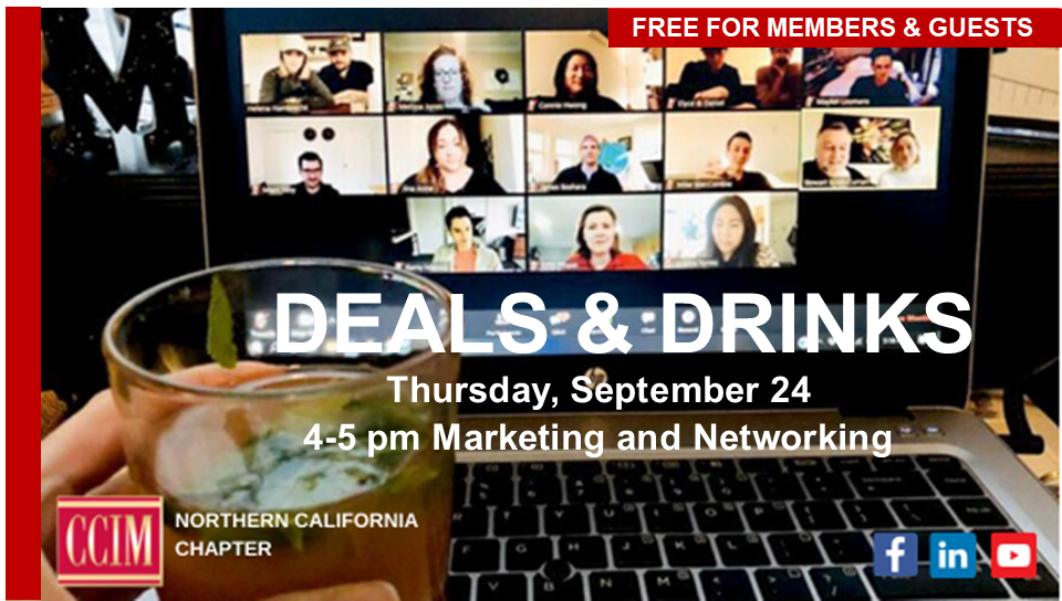 Deals & Drinks @ Zoom Meeting