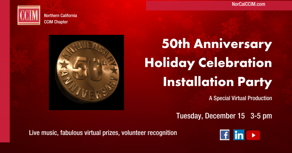 50th Anniversary & Installation Holiday Party @ Zoom Meeting