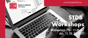 STDB Workshop Series Jan. 13, 20, 27 @ Zoom Webinar
